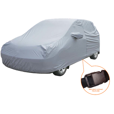 Mirage - X-Large Full Car Cover - Grey